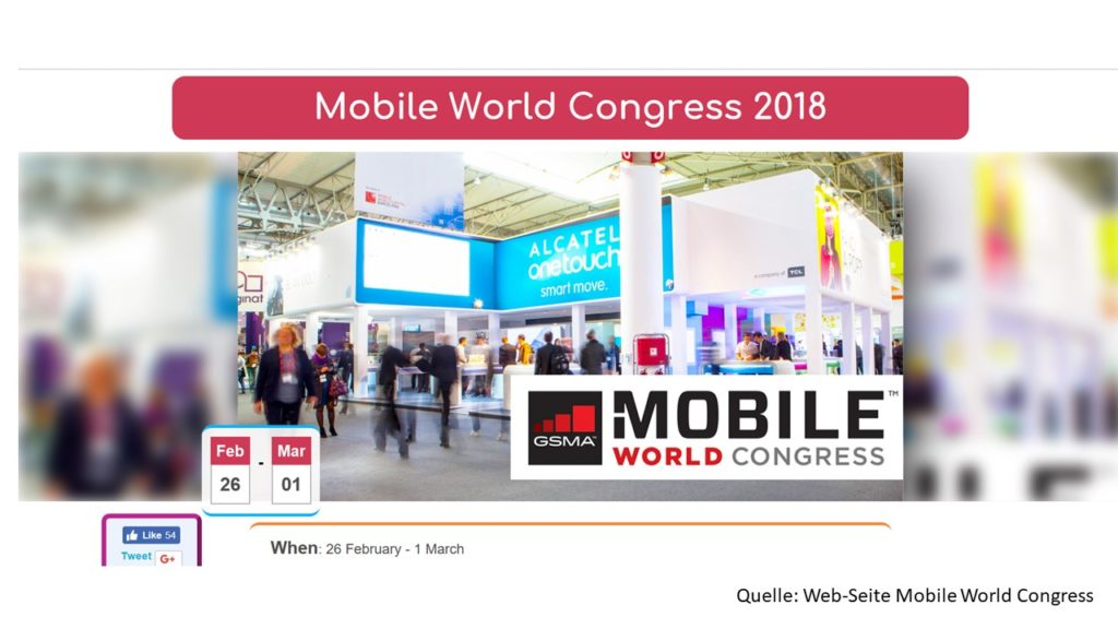 eCommerce: Video-VJs von Digitec berichten von der Mobile World 2018
